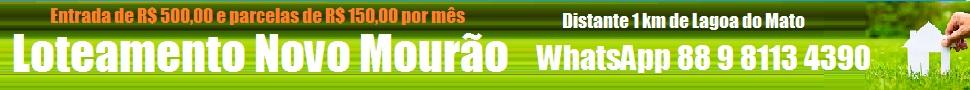 Loteamento Novo Mourão Super Banner