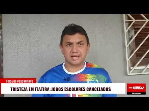 Tristeza em Itatira: Jogos Escolares cancelados devido coronavírus