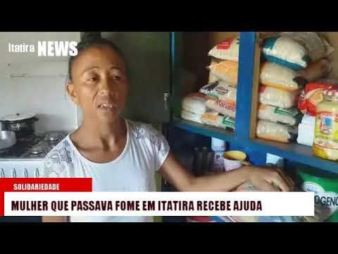 Mulher que passava fome em Itatira recebe ajuda