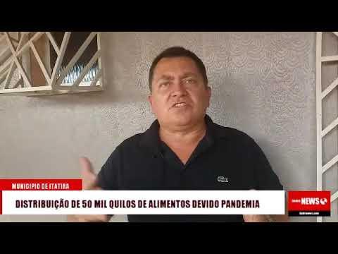Itatira vai distribuir 50 toneladas de alimentos devido coronavírus