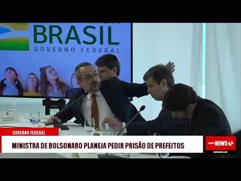 Governo Bolsonaro planeja pedir a prisão de prefeitos